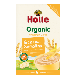 BANANA-SEMOLINA FRUIT Porridge, Organic