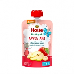 Apple Ant - APPLE with BANANA & PEAR Baby Food Pouch, Organic