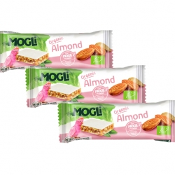 ALMOND BAR, Organic, MOGLi (pack of 3)