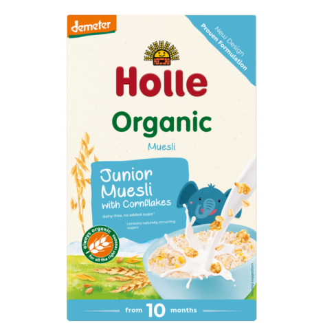 JUNIOR MUESLI with CORNFLAKES, Organic