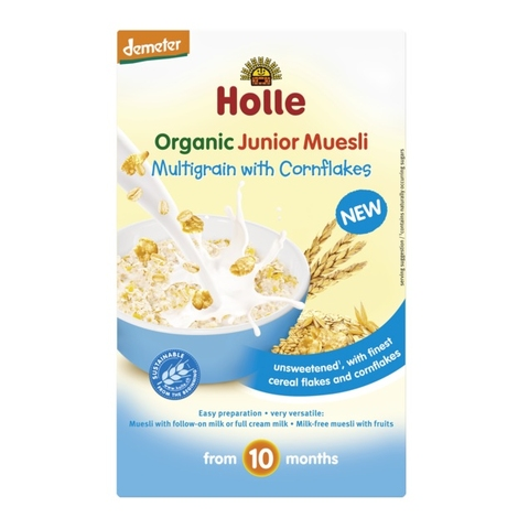 MULTIGRAIN with CORNFLAKES Junior Muesli, Organic