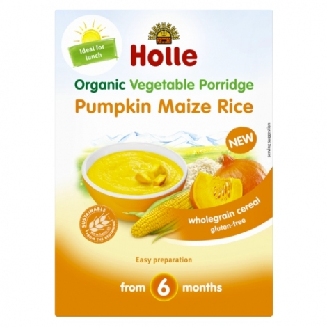PUMPKIN MAIZE RICE Porridge, Organic